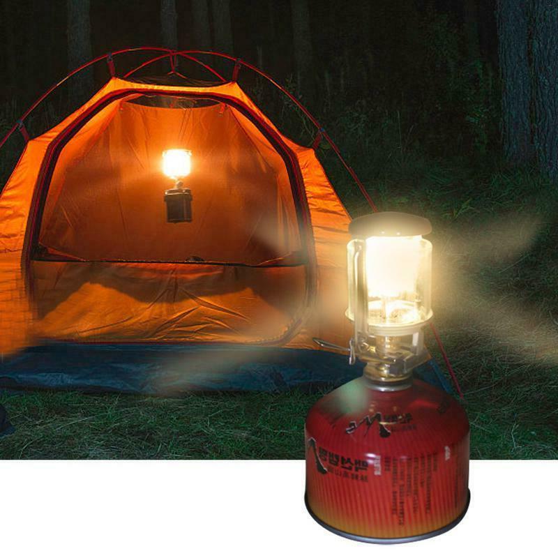portable camping lantern light propane outdoor hanging