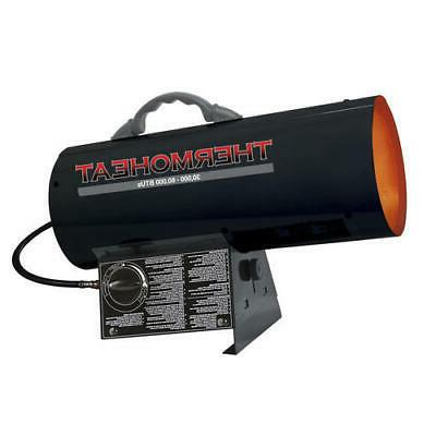 portable forced air propane heater garage shop