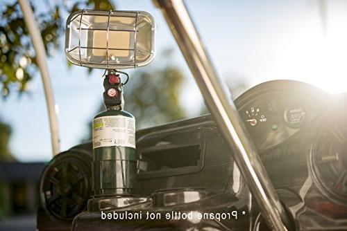portable golf cart propane heater