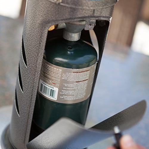 AZ Patio Heater Portable Gunmetal Heater