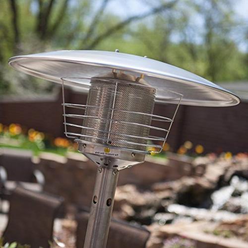 AZ Heater Portable Gunmetal Tabletop