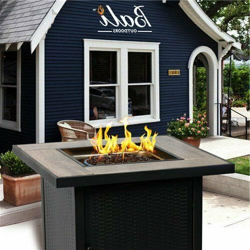 "30"" BALI OUTDOORS LPG Propane Fireplace Heater Gas Tabletop"