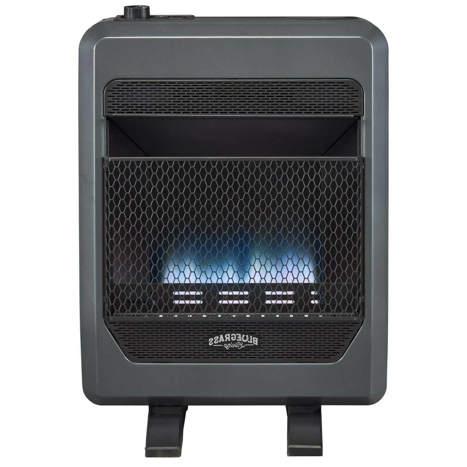 Bluegrass Gas VentFree Heater Blower and Feet