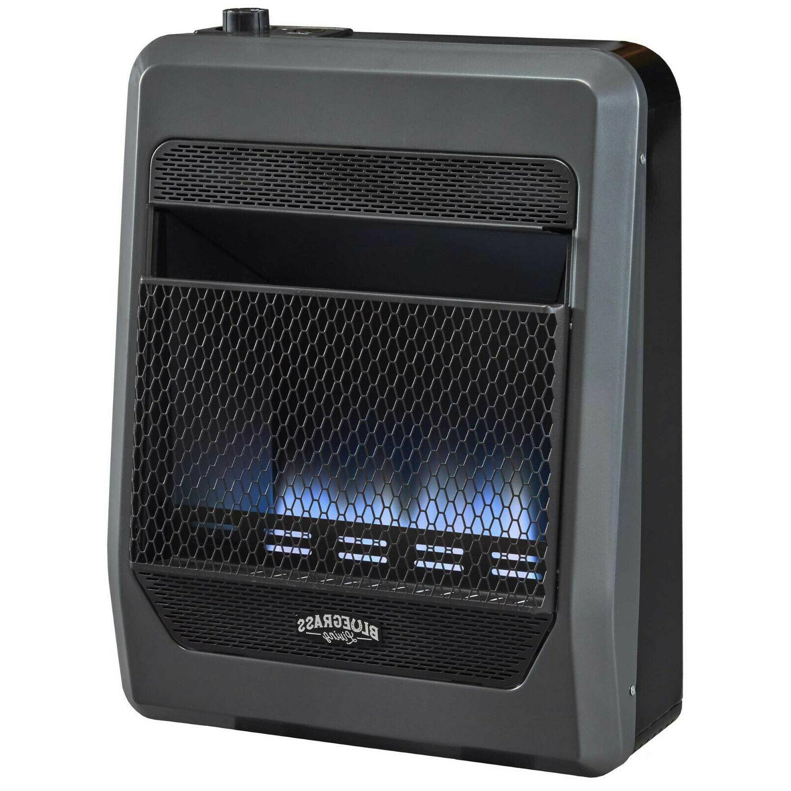propane gas ventfree blue flame gas heater