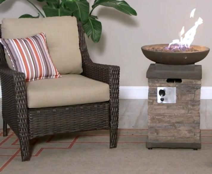 Propane Pit Control Furniture