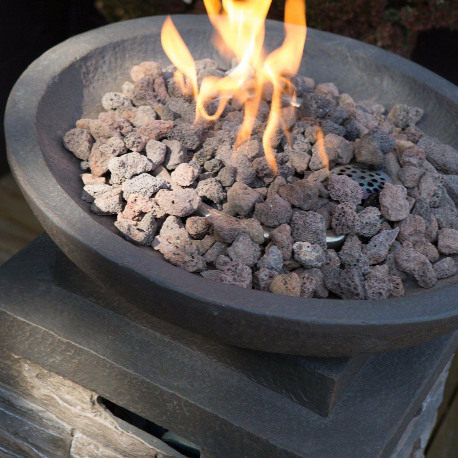 Propane Heater Fire Pit Control Furniture