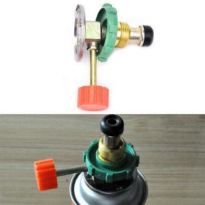 propane refill adapter gas cylinder tank coupler