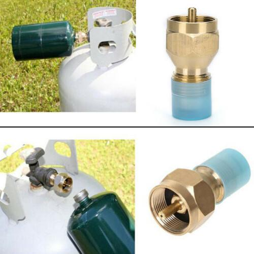 Propane Lp Gas 1 Lb Tank Heater Brass