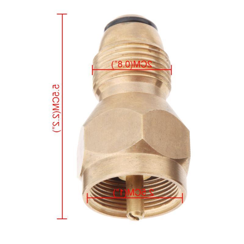 Brass Propane Refill Lp Gas Tank
