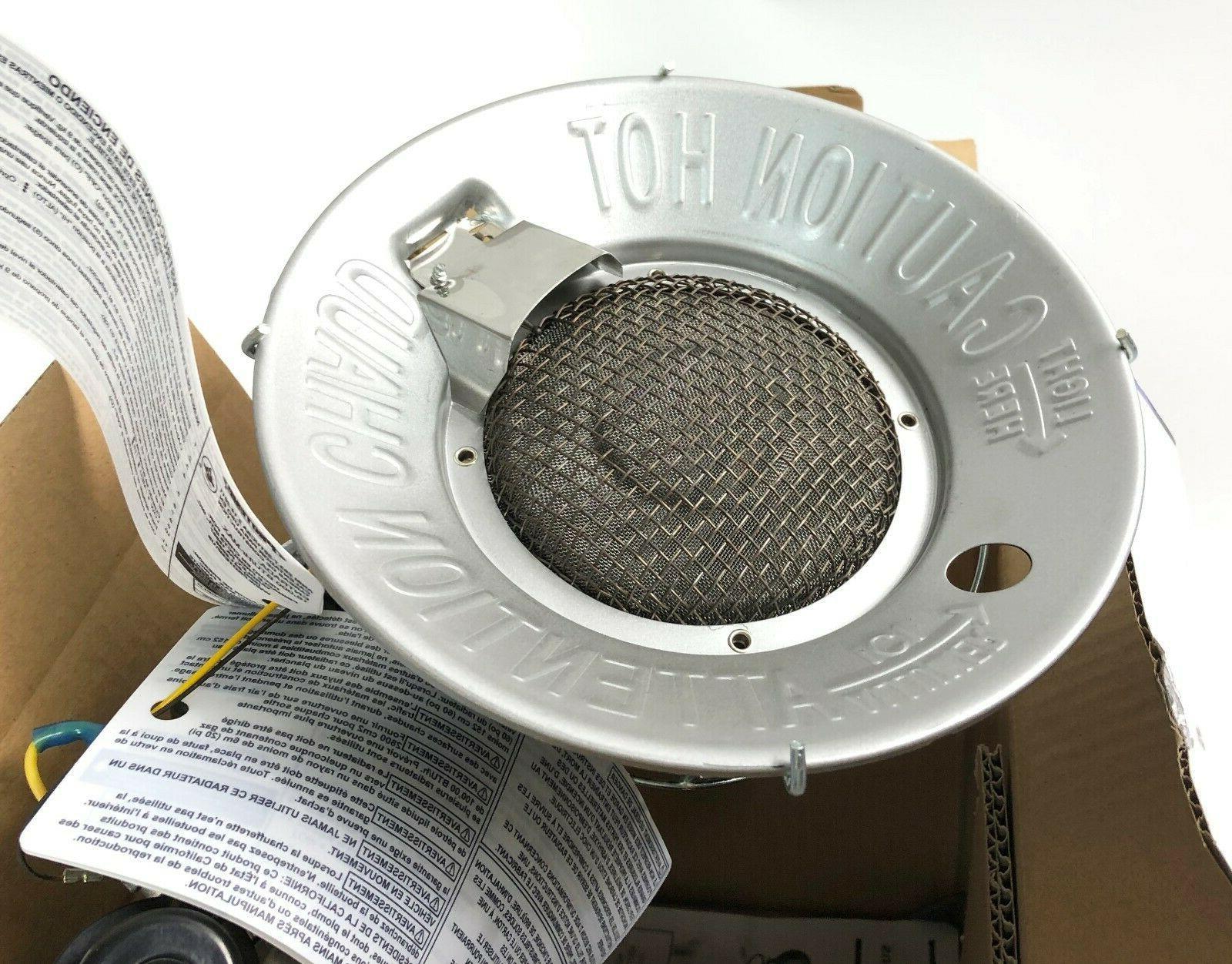 Protemp Outdoor Tank Heater Safety Tilt