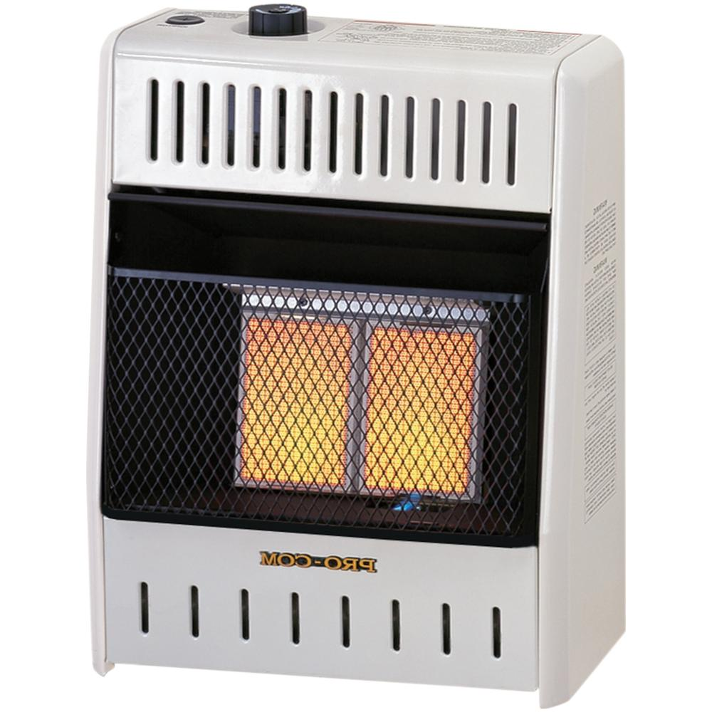 radiant vent heater
