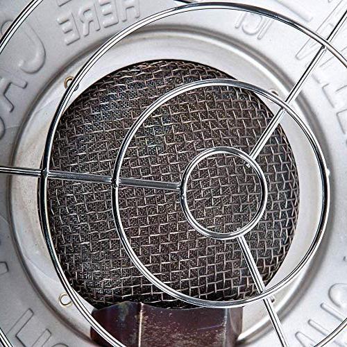 REMINGTON REM-32-TTC-O 32,000 Portable Tank Top Propane Heater,
