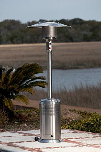 Fire Pro Stainless Steel Patio Heater