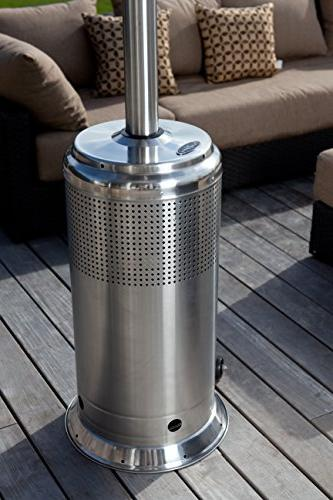 Fire Sense Stainless Steel Heater