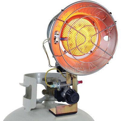 single radiant tank heater