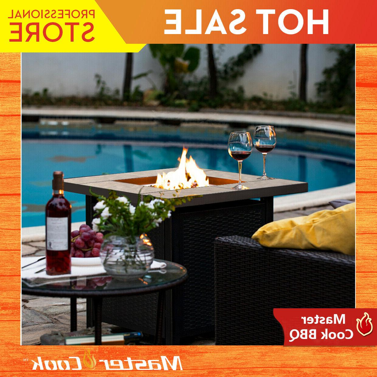 slate propane fire pits patio firepit outdoor