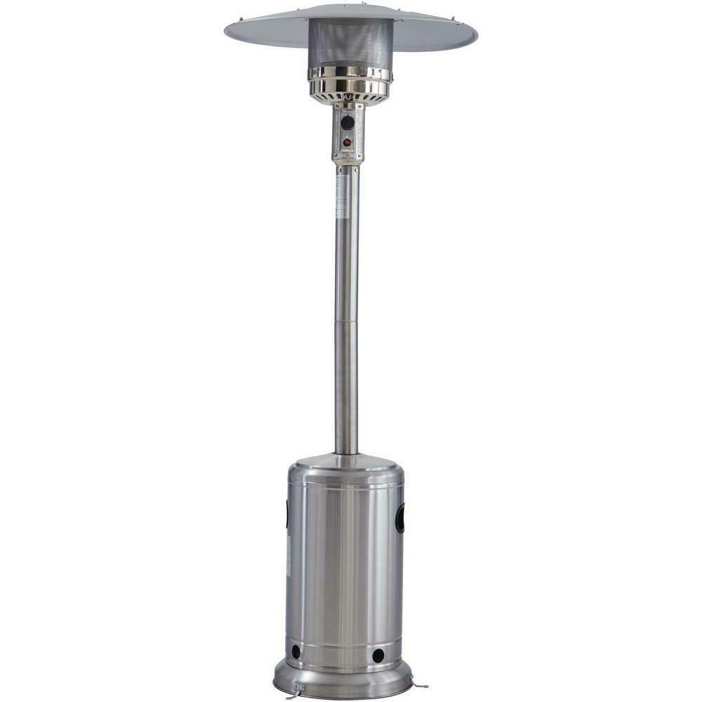 Hampton Bay Stainless Steel Patio Heater, 48000 BTU Burner H