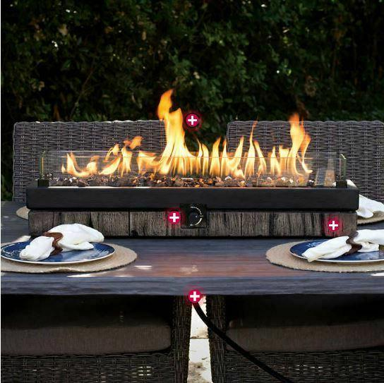 table top fire pit outdoor patio heater