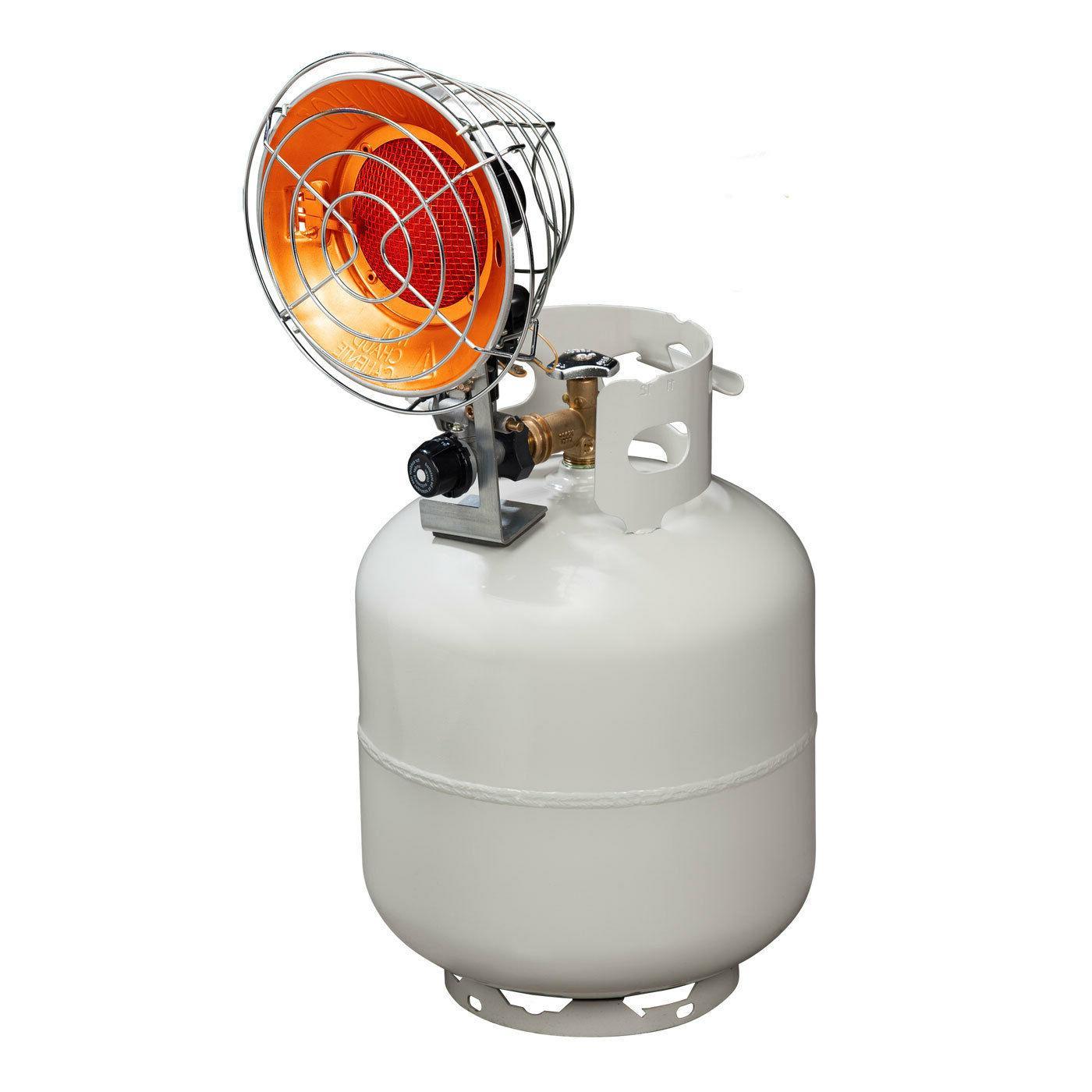 tank top propane heater single burner 15