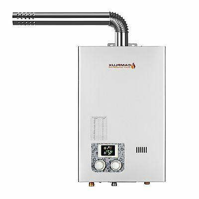 10L Tankless Display With Vent Pipe