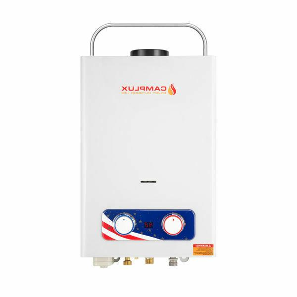 Camplux Tankless Heater Propane 1.32 GPM 4WD Sale
