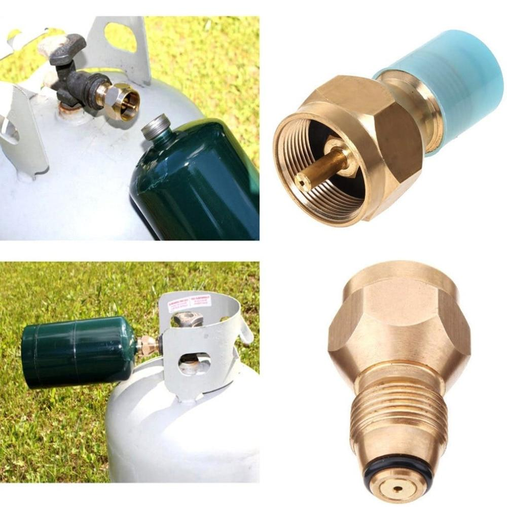 Universal Safety <font><b>Propane</b></font> Refill Adapter Tank Coupler <font><b>Heater</b></font> Solid Valve <font><b>Accessory</b></font>