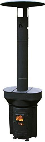 Q-Stoves Wood Pellet Outdoor Heater, Q-Flame Portable Eco-F