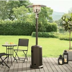 Mainstays Large Outdoor Patio Heater Powder Coat - Mocha Bro