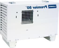 LB White Premier 80 Ductable Tent/Construction Heater, Propa