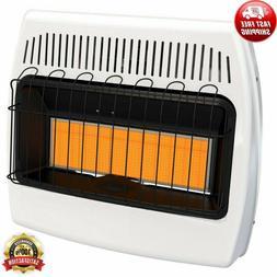 Liquid Propane Infrared Vent Free Space Heater 30,000 BTU Ga