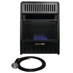 ProCom ML100HBAHR Propane, 10,000 BTU Gas Heater, Black
