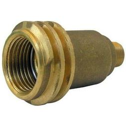 LASCO 17-5381 Male QCC-1 by 1/4-Inch Male Pipe Thread Brass