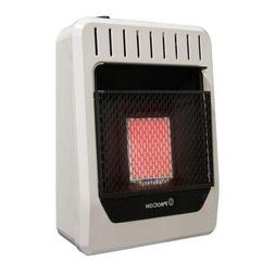Procom MG1TIR Dual Fuel Gas Infrared Wall Heater, 2 Plaque,