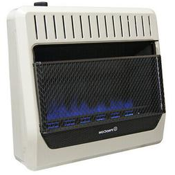 ProCom MG30TBF Ventless Dual Fuel Blue Flame Wall Heater, Ve