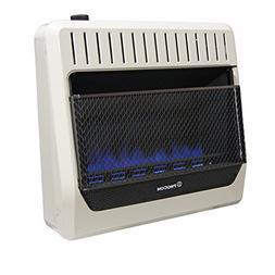 Procom MG30TBF Ventless Dual Fuel Blue Flame Wall Heater The