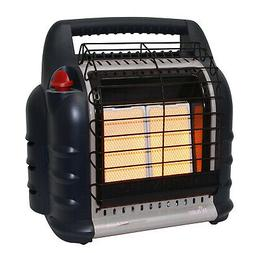 Mr. Heater F274830 MH18BRV Big Buddy Grey Indoor-Safe Portab