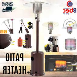 Mocha Garden Outdoor Patio Heater Propane Standing LP Gas St