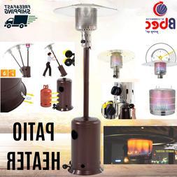 Mocha Garden Outdoor Patio Heater Propane Standing LP Gas St