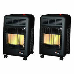 Mr. Heater 18000 BTU Radiant Propane Cabinet Outdoor Space H