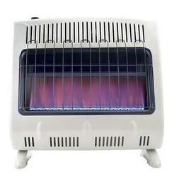 Mr Heater 30,000 BTU Blue Flame Propane Gas Wall/Floor Indoo