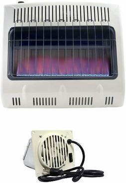Mr. Heater 30,000 BTU Vent Free Blue Flame Propane Heat plus