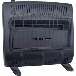 Mr. Heater 30000-BTU Vent-free Blue Flame Propane Heater Bla