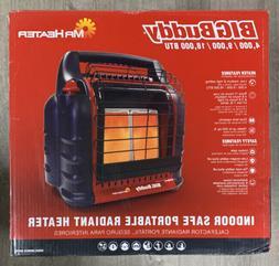 Mr Heater Big Buddy Portable Propane Heater, 18,000 BTU For