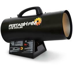 Mr. Heater Forced Air Propane Heater, 38,000 BTU NEW & FREE