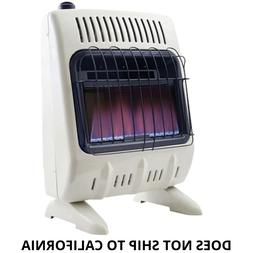 Mr. Heater Propane Gas Vent-Free Blue Flame Wall Heater - 10