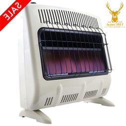 Mr. Heater Vent Free Blue Flame Propane Gas Wall Floor Heate