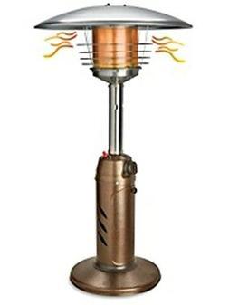 New in Box Uline Tabletop Patio Propane Heater 11,000 BTU Mo