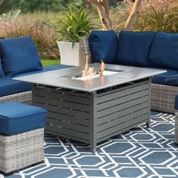 Outdoor Fire Pit Home Patio Deck Pool Backyard Propane Gas H