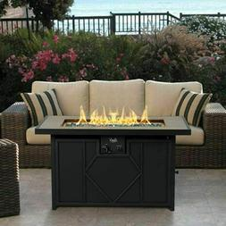Outdoor Fire Pit Table Patio Backyard Heater Deck Gas Firepi
