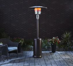 Patio Heater Tall  Bronze Finish Garden Outdoor Heater Propa